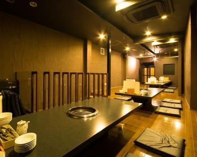 富山の焼肉と浜焼き 富山炙  店内の画像