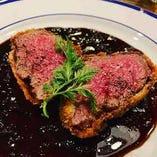 食べるべし一品!牛ヒレのヒレカツなど赤身肉をご賞味ください