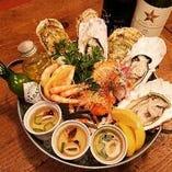 旬の牡蠣をご提供「オーシャンプレート」がお勧めです