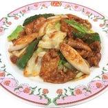肉とキャベツの味噌炒め