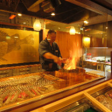 【炭火焼】旬の食材を炭火で