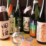 宮城はもちろん、全国の銘酒を数多くご用意!