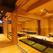 全席個室の和空間