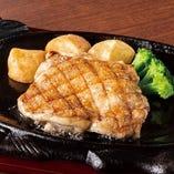 チキンステーキ(サラダバー付)