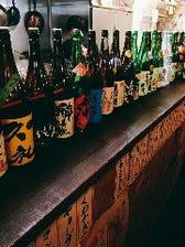 こだわりの日本酒20種類以上!!