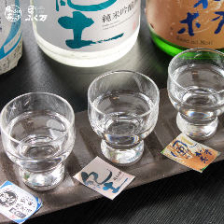 大人気!日本酒飲み比べ!
