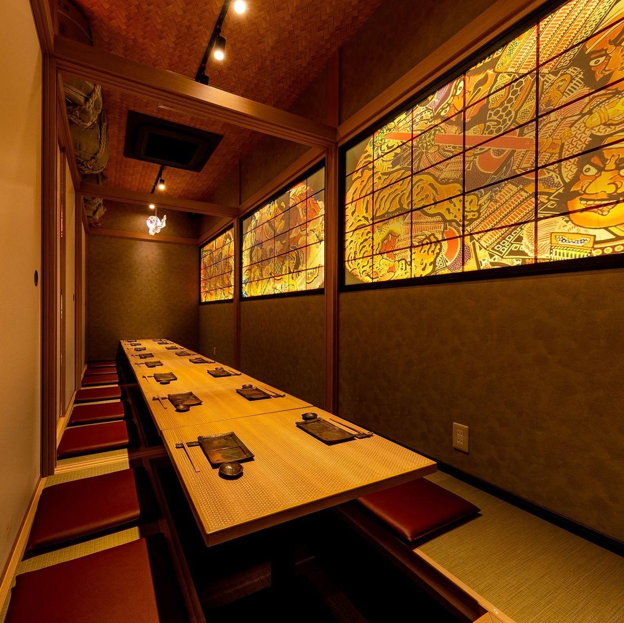 プライベートなお食事にもピッタリな個室をご用意