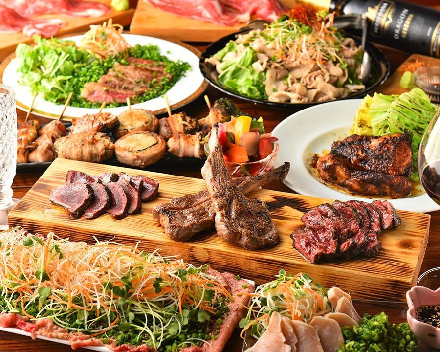 宴会ならファンキー原田! 最高の料理が食べられます!