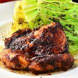 [肉料理] ファンキーチキンや鶏の白レバー刺など充実のメニュー