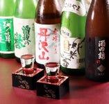 【地元の銘酒】 神奈川の地酒や焼酎など種類豊富にご用意。