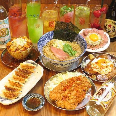 【2時間飲み放題付】こぼれ麻婆豆腐や餃子など当店おすすめの逸品まとめて堪能!台湾旅行満喫コース 全7品