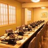【2階】テーブル席完全個室(~18名様×2部屋)