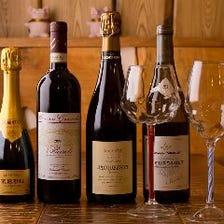 「そば屋でワイン」という洒落た選択