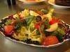 アンチョビと焼きピーマンのスペイン風サラダ