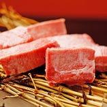 【極上の炭火焼肉】炭焼き七輪で焼いたお肉を秘伝の焼肉ダレで