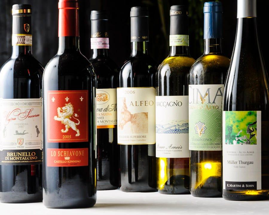 イタリア全土から選び抜かれた極みワイン