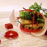 多彩なアイデアを詰めたイタリア料理の最高峰『デグスタツィオーネ コース』全7品 12,000円(写真はイメージです)