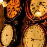 静かな時を刻む夫婦時計