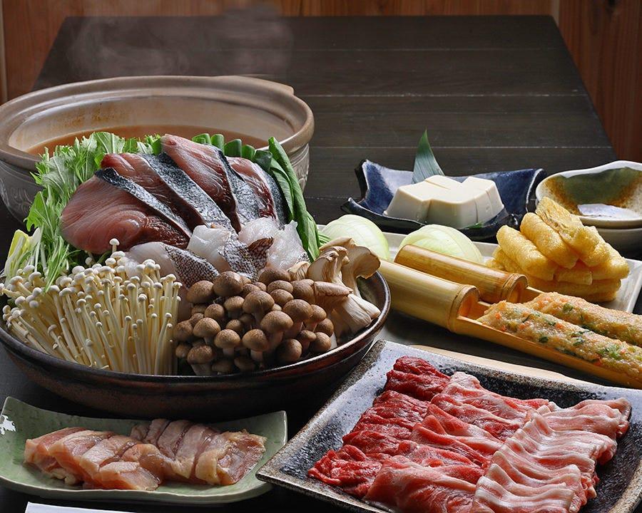 奈間蔵栄、自慢の鍋です。
