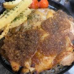 大山鶏のステーキ