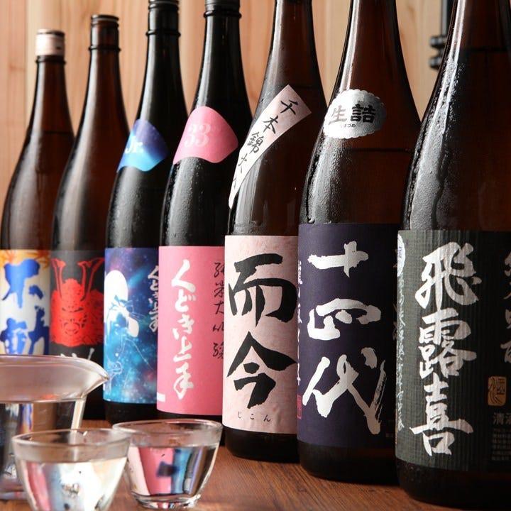 通をも唸らす日本全国の厳選地酒!