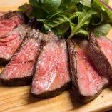 葡萄牛のランプステーキ