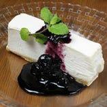 ホワイトチョコ・チーズケーキ