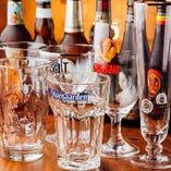 各ビールの美味しさを最大限に引き出すグラス