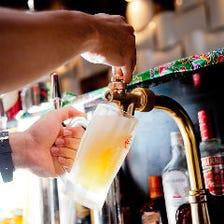 生オリオンビールが一杯398円(税抜)