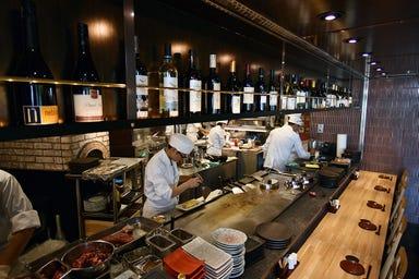 窯焼ステーキの鉄板居酒屋 市場小路 北大路ビブレ店 店内の画像