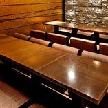 歓送迎会など各種宴会にも利用いただける広めの個室をご用意。