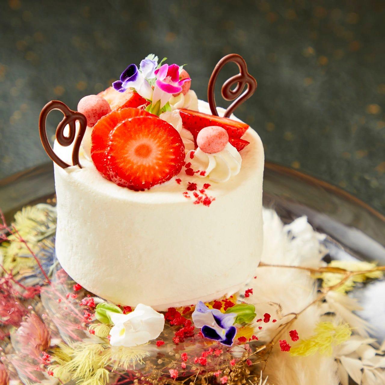 【特別記念日×贅づくし懐石/12品】ホールケーキ付き・料理長厳選の食材を愉しむ特別な記念日に