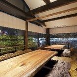川沿い堀ごたつ完全個室