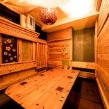 【少人数の宴会】 女子会や誕生会に最適な6名様個室完備
