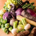 【鎌倉野菜】 旬を愉しむ鎌倉野菜を絶品料理にしてご提供