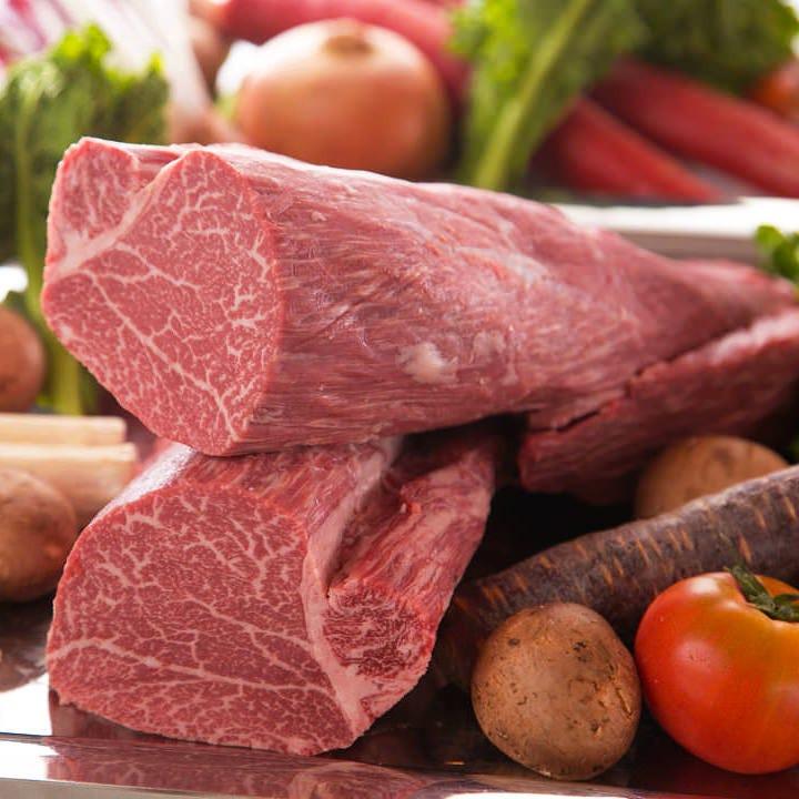 良質なこだわりの肉