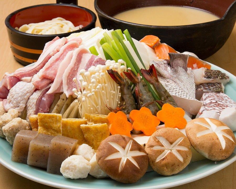 九州・大分・やせうまだんご汁料理