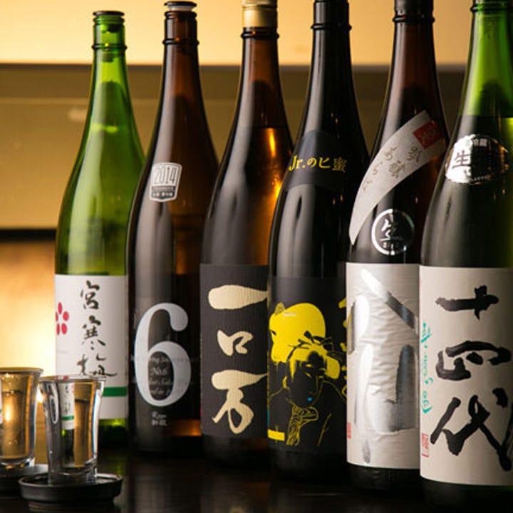 日本全国の銘酒を取り揃えてます