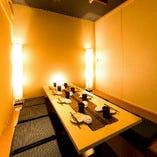 6名様~8名様向けテーブル個室 (飲み会/宴会/歓送迎会)