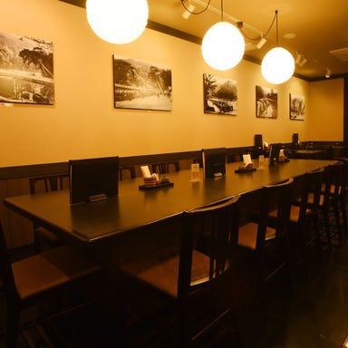 京都嵐山 自家製麺 新渡月  店内の画像