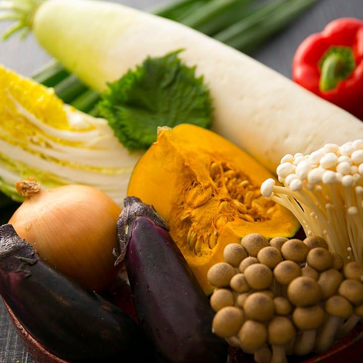減農薬×京都産を意識した食材選び