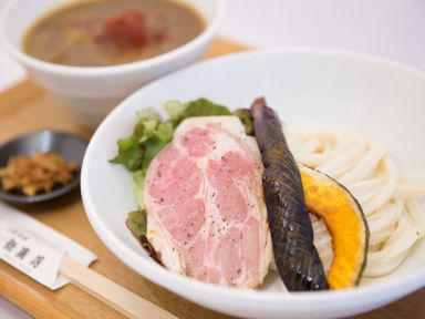 京都嵐山 自家製麺 新渡月  こだわりの画像