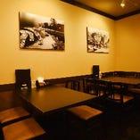 【テーブル席:2~4名様】店内奥の落ち着くスペース。お子様連れやランチ会のお客様に
