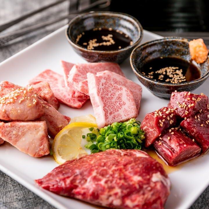 上質な至高のお肉が楽しめる 自家製タレにもこだわりがあります