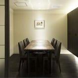 スタイリッシュな個室は様々なシーンでご利用いただけます。