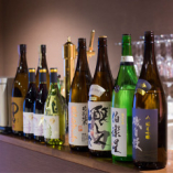 日本酒を各種取り揃えております。