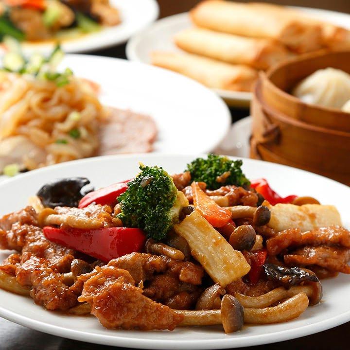 フカヒレやあわびが味わえる豪華「Cコース」は接待にもおすすめ