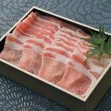 豚肉は厳選銘柄を使用