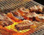 山形牛や串物など、肉料理もご提供。是非ご賞味あれ!