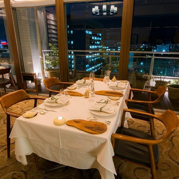 夜景×フランス料理 シマラボ
